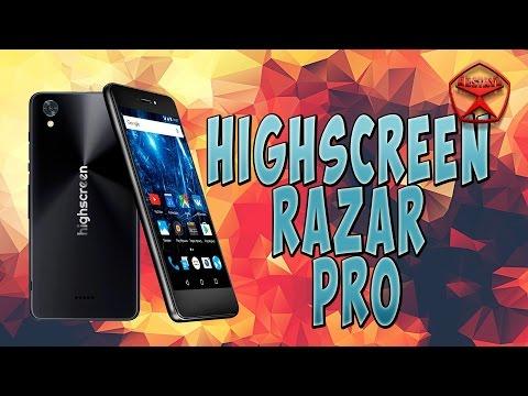 Highscreen RAZAR Pro. Обзор / от Арстайл /