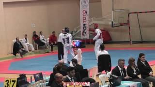 68kg Halil İbrahim Varol vs Berat Ozkaya (2017 Turkish TKD Championships -21)
