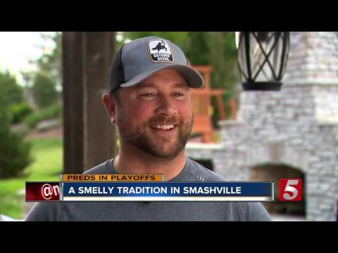 Fans Tell Story Behind Preds Catfish Tradition