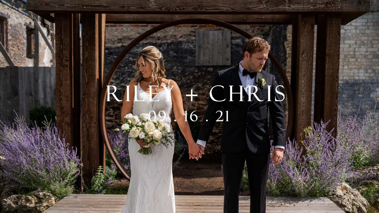 These  wedding vows will make you cry - Chris and Riley - Intimate Elora Mill Wedding Film