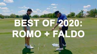 Best of 2020: Tony Romo and Nick Faldo Lesson