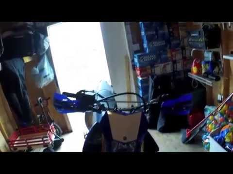 How to Install Hand Guards & Fender Eliminator on a WR250R by MOTO JET
