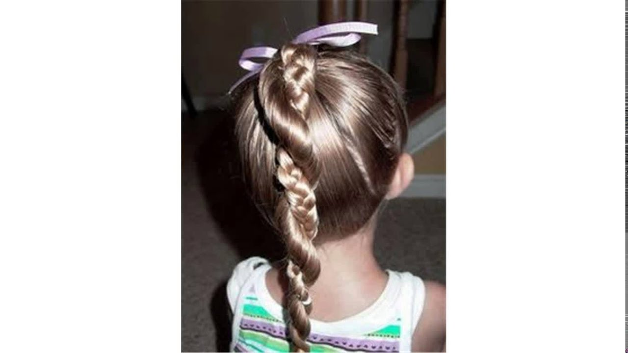 Cute And Easy Hairstyles easy and quick ponytail hairstyles for work Cute Easy Hairstyles For Kids Youtube