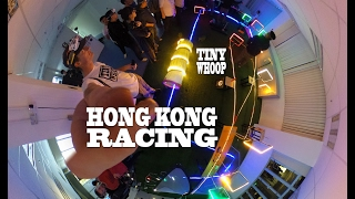 Hong Kong Racing - Tiny Whoop - Whoopin the Vertical City Part 2