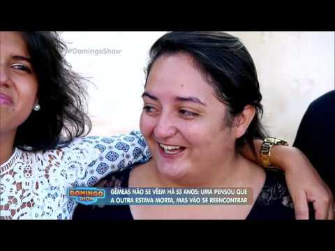 Irmãs gêmeas se reencontram depois de 52 anos sem se ver