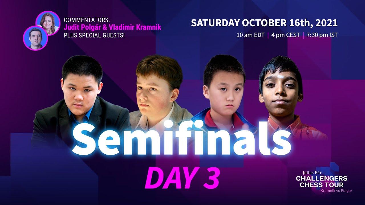 Download Julius Baer Challengers Chess Tour Finals: Semi Finals | Day 3 | Judit Polgar & Vladimir Kramnik