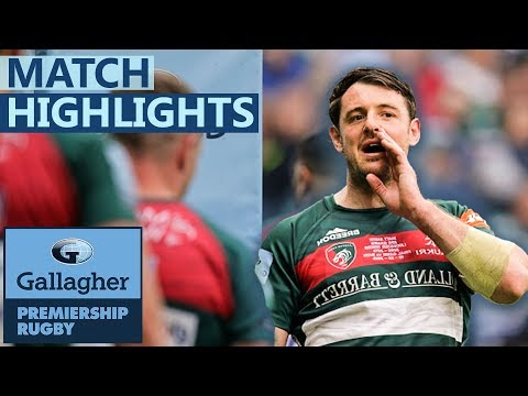 Leicester 31-32 Bath | Bath Qualify For Europe In Last Minute | Gallagher Premiership - Highlights