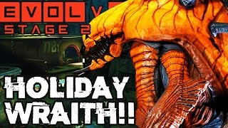 CRAZY WRAITH FINISH!! SWEET STAGE TWO MATCHES!! Evolve Gameplay Walkthrough (PC 1080p 60fps)