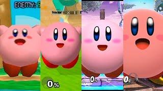 Super Smash Bros Wii U | Kirby Evolution