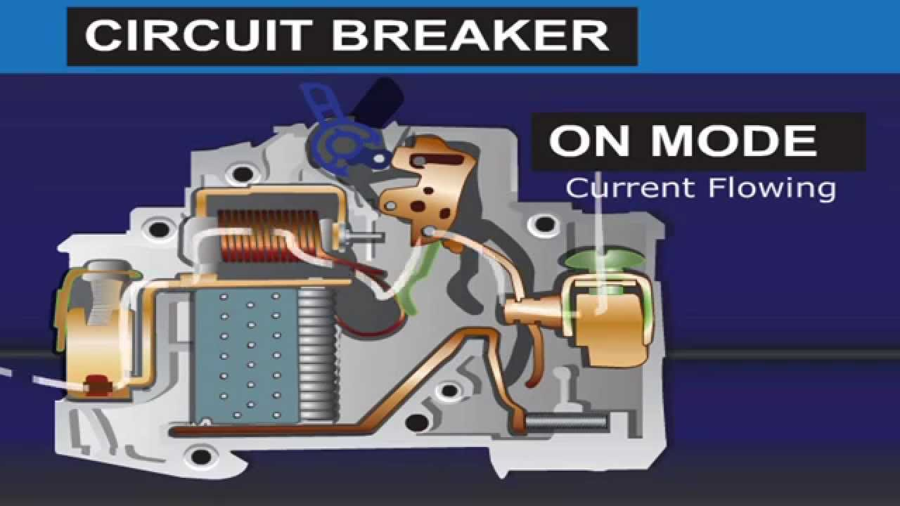 2 Pole Relay Diagram What Is A Circuit Breaker Youtube