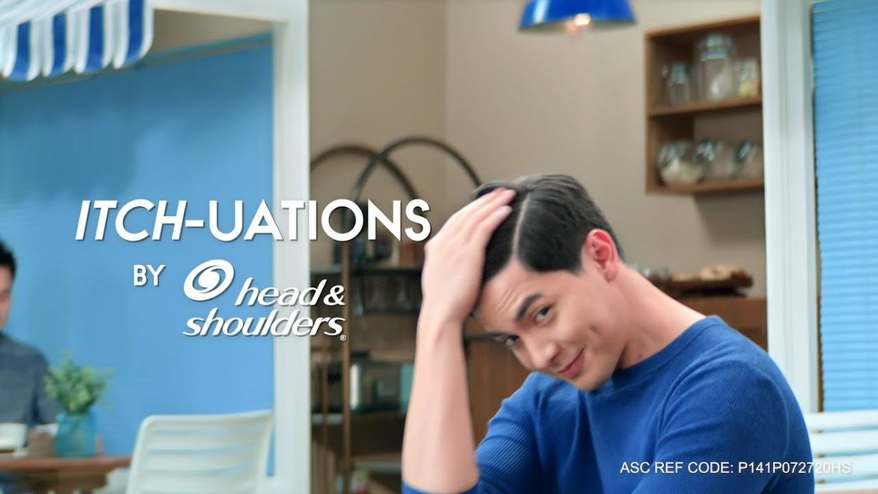 No More ITCH-UATIONS with Head & Shoulders