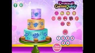 Luscious Wedding Cake Decor (Готовим еду: Украшение свадебного торта) - прохождение игры