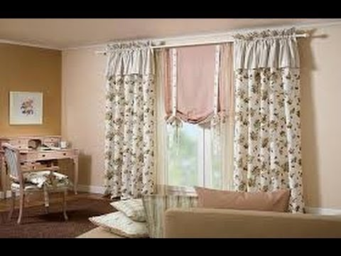 Como hacer cortinas elegantes para salas 6 youtube for Como hacer cortinas de cocina