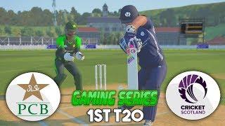 PAKISTAN vs SCOTLAND 1ST T20 GAMING SERIES - ASHES CRICKET 17