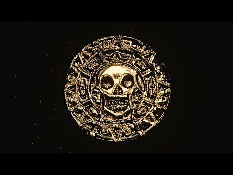 Aztec Gold Coin In Blender