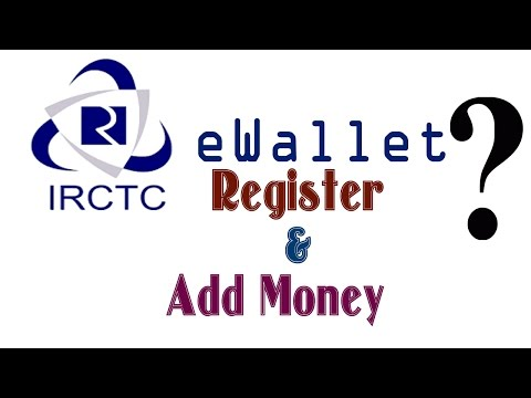 IRCTC eWallet - How to register and add money