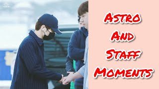 Astro (아스트로) and Staff Moments