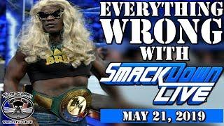 WWE SmackDown Live 5/21/19 Results   Dolph Ziggler Attacks Kofi Kingston