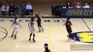 Basketball Highlights Felicia Chacon 2019