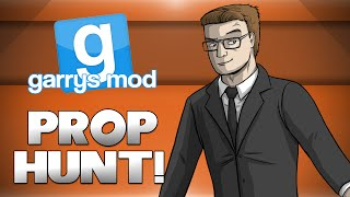 GMod Prop Hunt! - DAITHI DE ANGEL! (Garrys Mod Funny Moments)