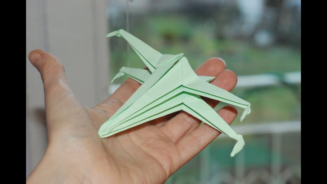 Jak zrobi x wing origami how to make an origami x wing youtube jeuxipadfo Images