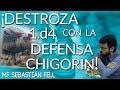 Destroza 1.d4 con la Defensa Chigorin! - MF Sebastián Fell - Webinar Martes 25 a las 3 PM EST