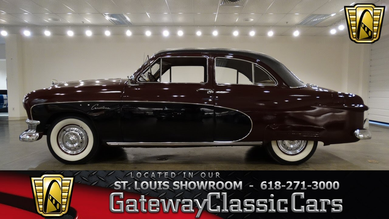 6994 1950 ford crestline gateway classic cars of st louis youtube. Black Bedroom Furniture Sets. Home Design Ideas