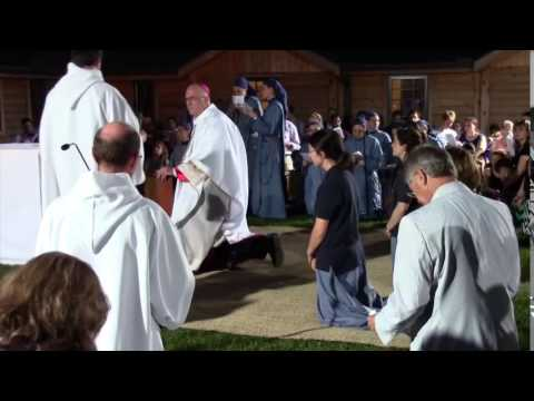 Little Sisters of the Lamb - Investiture of 3 postulants -  Part 2