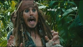 Jack Sparrow being a walking meme for 4 minutes straight