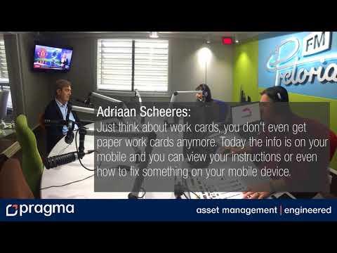 Pretoria FM interviews Adriaan Scheeres