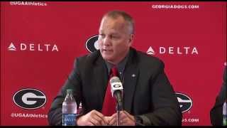 UGA News Conference on Mark Richt