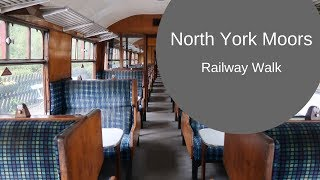 Walking with the North Yorkshire Moors Railway; Rail Trail Goathland to Grosmont [CC]