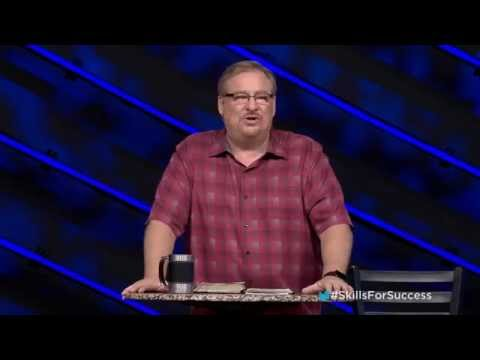 Lean How To Ignore The Naysayers In Life with Rick Warren