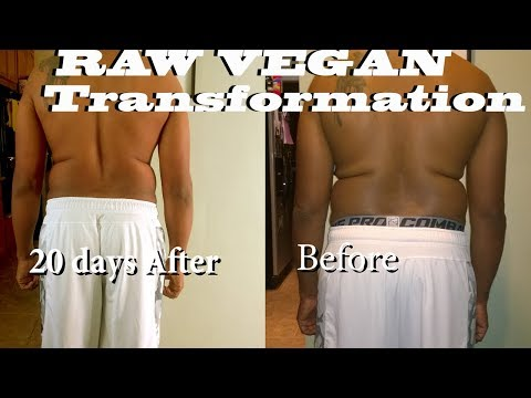Raw Vegan 20 Day Transformation Very Hard | Dherbs Detox Results