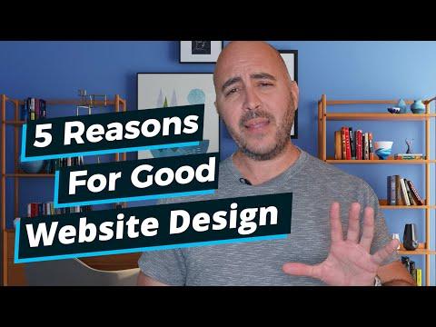 5 Reasons For Good Website Design