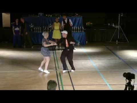 Swingdance Open 2014 Boogie Woogie senior fast Claes & Ann-Catrin
