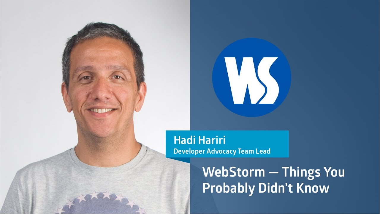 WebStorm - Things You Probably Didn't Know