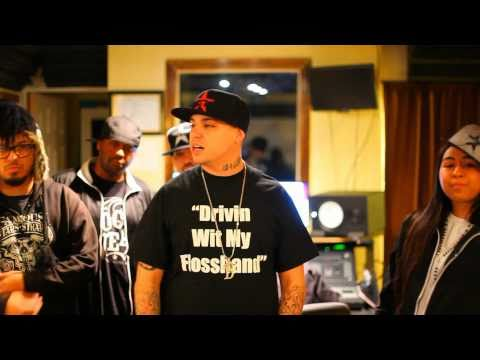 Danny Blunt & Slim Thug Studio Session & Performance [Unsigned Artist]
