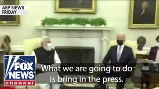 Biden caught on hot mic criticizing American press