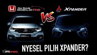 Hasilnya Mengejutkan! Mitsubishi Xpander VS Honda All New Mobilio 2018