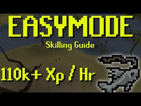 The EASYMODE Way To Get 110k+ Fishing XP Per Hour Using Runelite