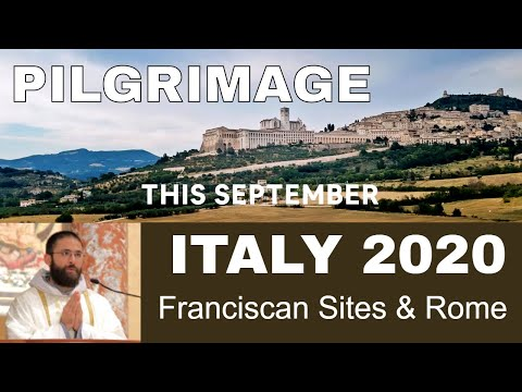 Join Fr. Jacinto on a Pilgrimage to Italy, September