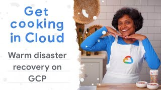 Warm Disaster recovery on Google Cloud for on-premise applications (Get Cooking in Cloud)