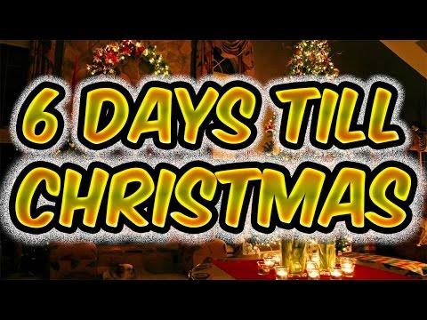 """6 DAYS TOGO TILL CHIRSTMAS """"VLOG"""""""