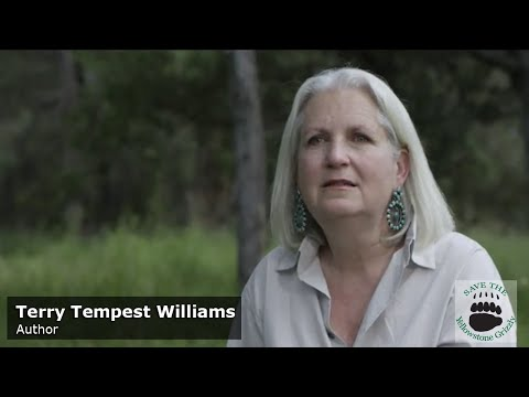 Terry Tempest Williams - Save the Yellowstone Grizzly