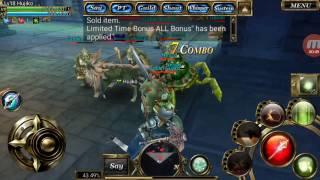 Aurcus Online - Cleric gameplay
