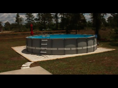 Intex 22x52 Ultra Frame Pool W Sand Filter Saltwater Led