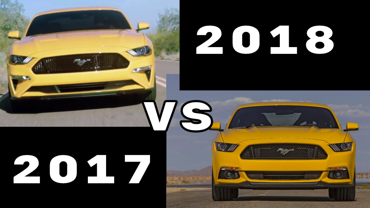 2017 Mustang Gt Premium >> 2018 Ford Mustang GT vs Pervious 2015 2017 Mustang GT - YouTube