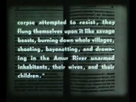 Anti China Atrocities of the New Tsars 1969