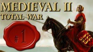 M2TotalWar Gameplay #1 (Tutorial) - Medieval 2 Total War, o simulador de guerra.